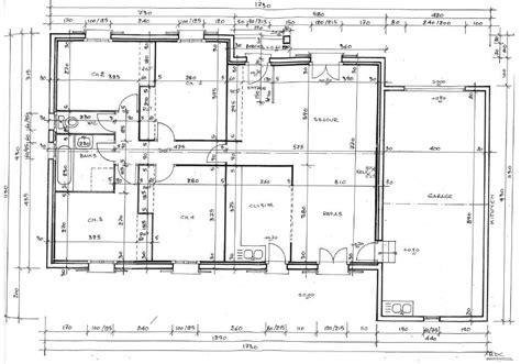 plan interieur maison plain pied images