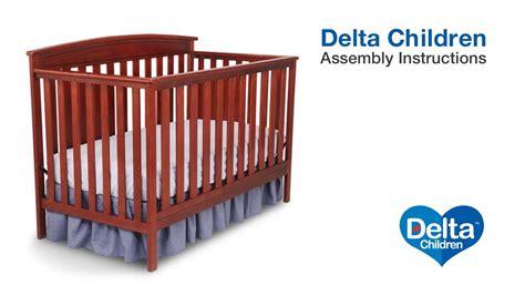gateway 4 in 1 crib delta children gateway 4 in 1 crib assembly