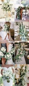 Eucalyptus green wedding color ideas / www deerpearlflow