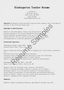 pre primary school teacher resume sample - resume samples kindergarten teacher resume sample