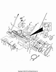 Troy Bilt 31as2t5f711 Squall 2100  2011  Parts Diagram For