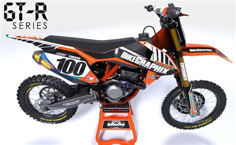 motocross bike graphics ktm gtr semi custom motocross graphics bikegraphix