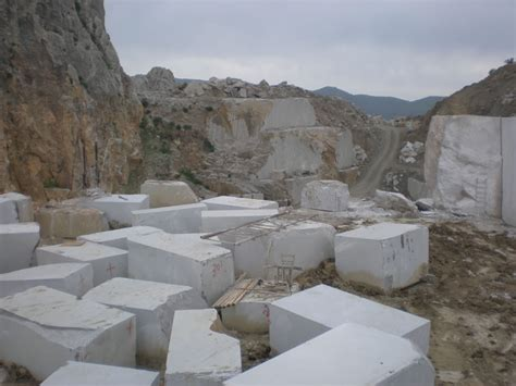 gortynis grey marble quarry kampourakis marbles sa
