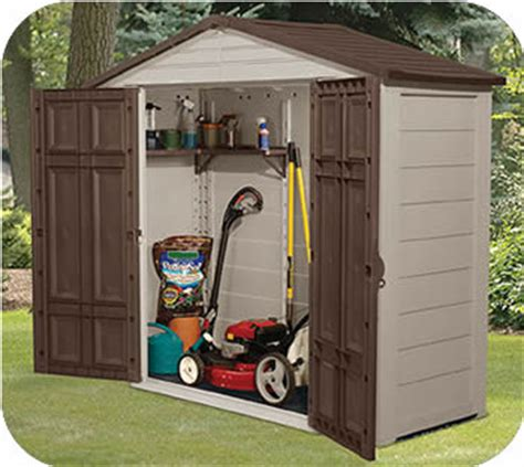 suncast sutton 7x7 shed plastic sheds resin storage shed kits