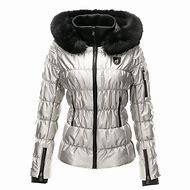 Silver Metallic Ski Jackets