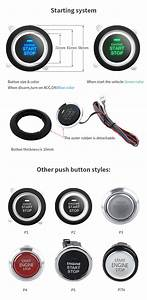 Easyguard Pke Push Button Start Car Remote Engine Start