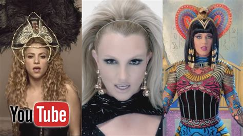 Top 100 Most Viewed Music Videos Of All Time (youtube