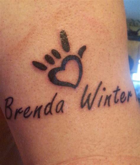 Signlanguage Love Tattoo  Tattoos! Pinterest