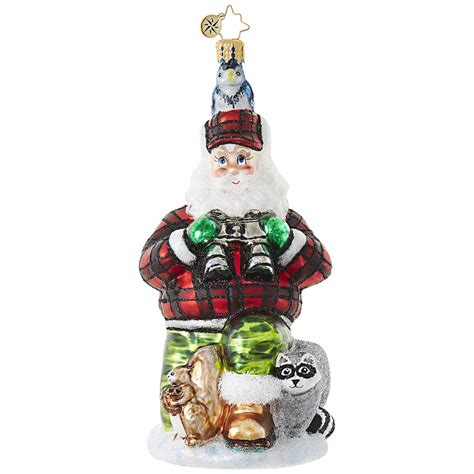 camouflage kringle ornament by christopher radko special