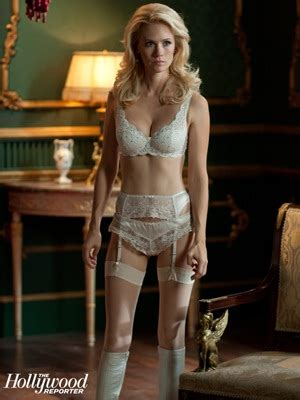january jones rocks sexy lingerie  mutant emma frost