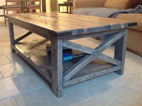rustic gray coffee table ana white rustic x coffee table with minwax classic gray