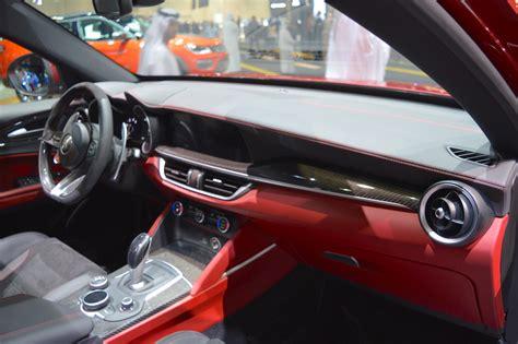 Alfa Romeo Stelvio Quadrifoglio Dashboard Passenger Side
