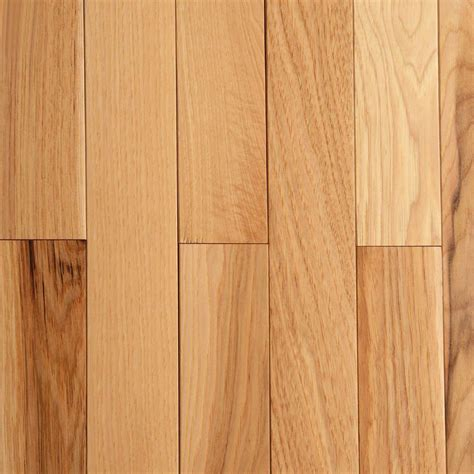 3 1 4 wood flooring bruce hickory rustic natural 3 4 in thick x 2 1 4 in wide x random length solid hardwood