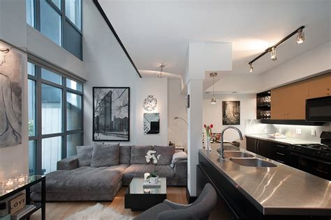cool yaletown loft  vancouver idesignarch interior