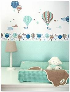 Babyzimmer Junge Gestalten : hei luftballons boys taupe mint selbstklebende kinderzimmer bord re wandsticker passende ~ Sanjose-hotels-ca.com Haus und Dekorationen