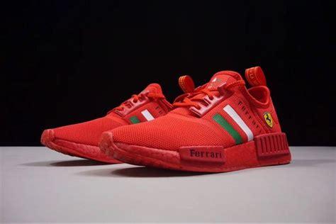 Nmd_r1 v2 star wars 運動鞋. Ferrari X Adidas NMD R1 Boost Custom Running Shoes Triple ...