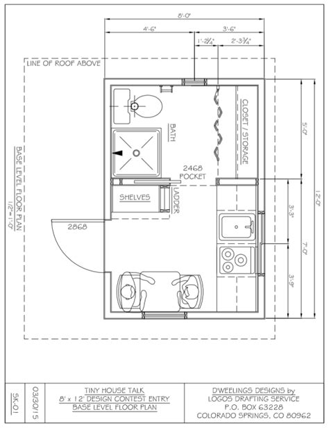 cottage designs floor charles 39 s 8x12 tiny house design