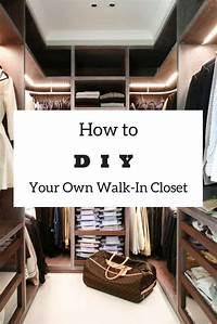 diy walk in closet Easy DIY: How to Build a Walk-In Closet Everyone Will Envy