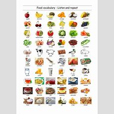 Food And Drinks  Interactive Worksheet