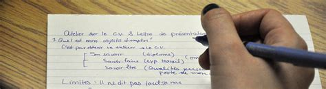 Modèle De Présentation De Cv by Resume Format Lettre De Pr 233 Sentation Cv Uqam