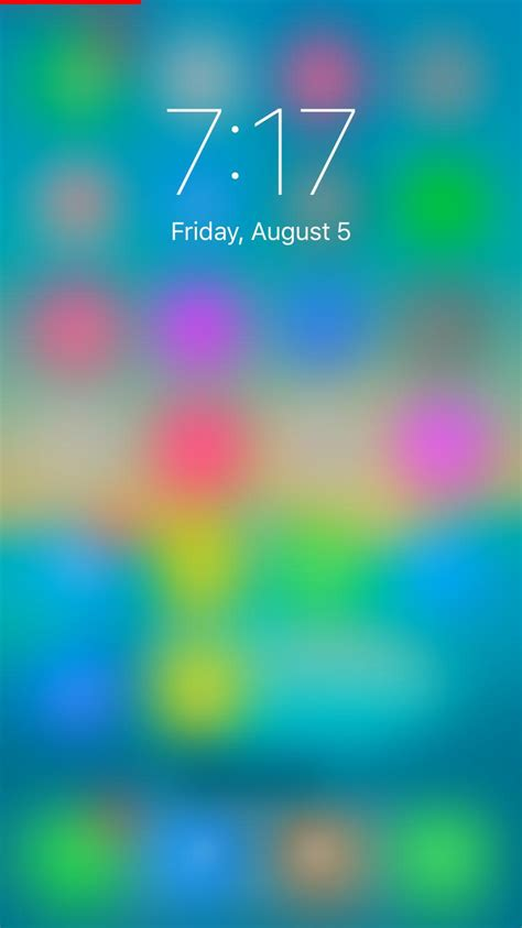 Lock Screen Apple Iphone 11 Pro Wallpaper by Lockshot Shows A Blurred View Of What S Your Lock