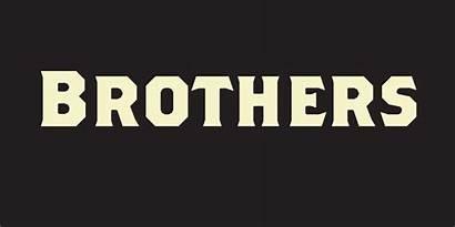 Brothers Font Fonts Emigre Hipster Fontspring Ifonts