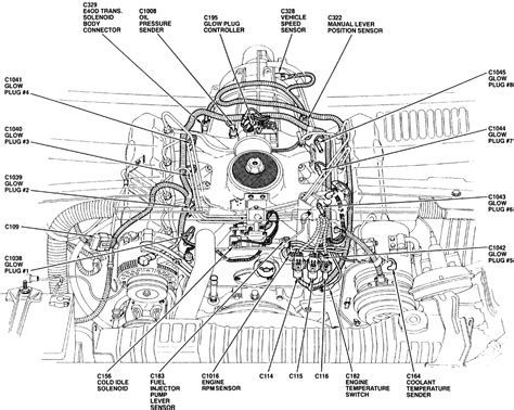 1992 Ford E350 Transmission Diagram by 89 F350 Coolant Temperature Sensor Page 2 Diesel