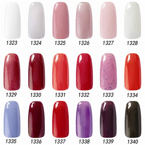 fingernail colors nail change color nail gelishgel acrylic paint