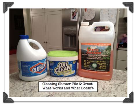 best cleaner for tile shower cleaning shower ceramic tile grout what works and what