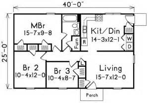 1000 sq ft floor plans 1000 square 2 bedrooms 2 batrooms on 1 levels house plan 19752 all house plans