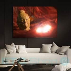 Led Bild Kerzen : led wand bild wohn schlaf zimmer dekoration buddha kerzen motiv leinwand beleuchtet eglo 75039 ~ Frokenaadalensverden.com Haus und Dekorationen