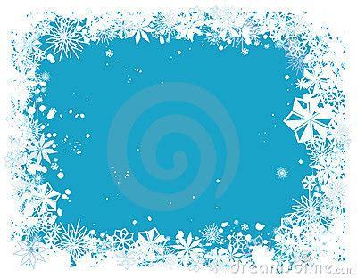 snowflake border  royalty  stock image image