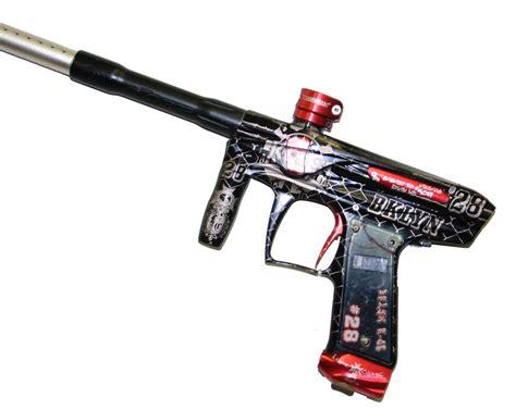 kaos custom 30 used bob custom kaos victory paintball gun marker