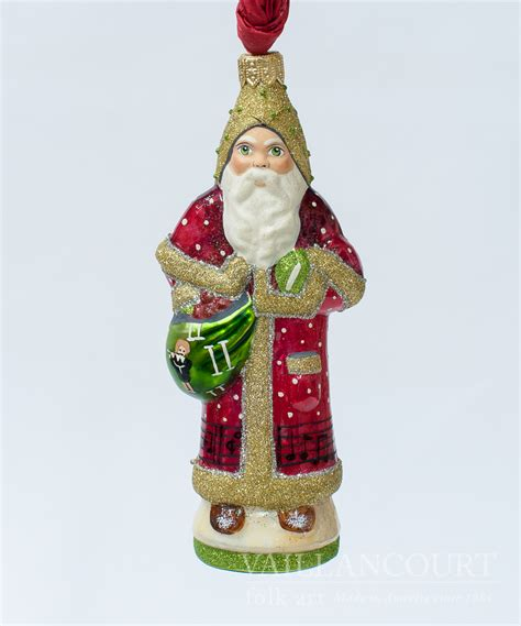 11th day of christmas glimmer ornament from vaillancourt