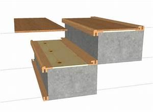 beton cire escalier leroy merlin 2 pose parquet massif With parquet pour escalier