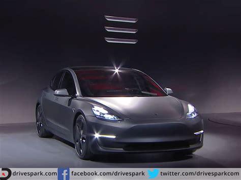Electric Sedans 2016 by Tesla To Make 5 Lakh Model 3 Sedans In 2018 Drivespark News