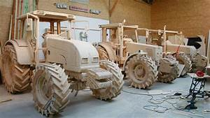 Pics: Fancy a fine-grained 'New Holland' - made of wood