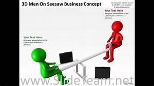 Work Flow Business Process Diagram Seesaw Powerpoint Presentaticoncept Slides Presentation