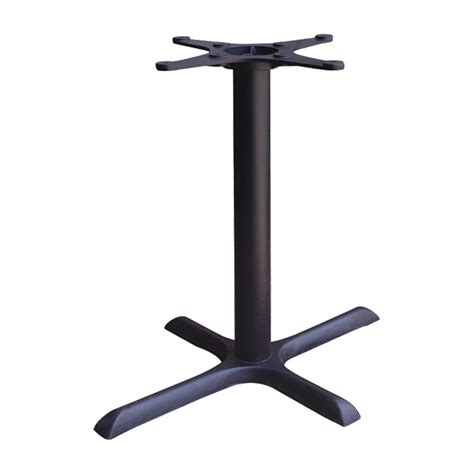 types of table bases rectangle x cast iron table base cross cast iron table base