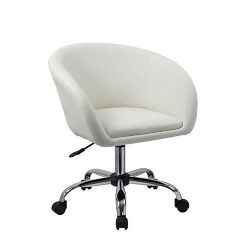 fauteuil a roulettes fauteuil 224 tabouret chaise de bureau blanc bur09021 d 233 coshop26