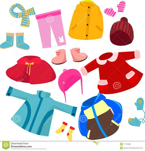 Clothing Clip Clip Winter Clothes Www Imgkid The Image Kid
