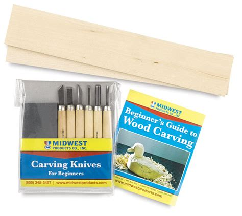 midwest products wood carvers starter kit blick art