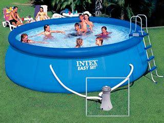 piscine intex 4 57 piscine hors sol 4 57 x 1 07m easy set intex