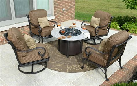 Fire Pit Table Set Costco Patio Furniture With Modern