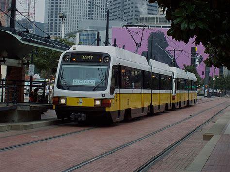 dallas light rail dallas a city in transition