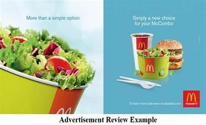 Advertisement Example Mccombo Menu Analysis