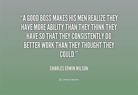 What Makes A Good Manager Quotes