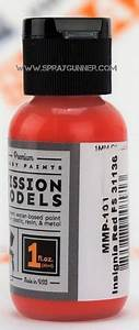 Mission Models Paints Color Insignia Red Fs 31136