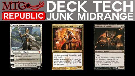 Mtg Deck Tech by Mtg Deck Tech Standard Junk Midrange