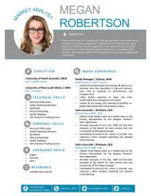 creative resume templates free the megan resume professional word template